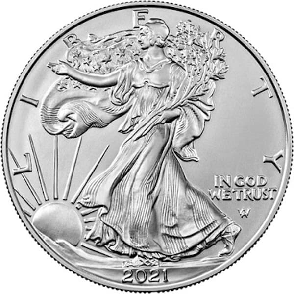 American Silver Eagle Type 2 Front