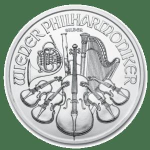 Philharmonic 1 oz Silver Coin